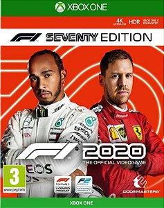 F1 2020 F1 Seventy Edition Xbox One - Mídia Digital