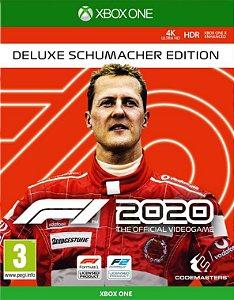 F1 2020 Deluxe Schumacher Edition Xbox One - Mídia Digital