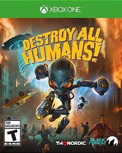 Destroy All Humans Xbox One - Mídia Digital