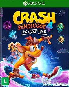 Crash Bandicoot 4 It s About Time Xbox One e Xbox Series X/S - Mídia Digital