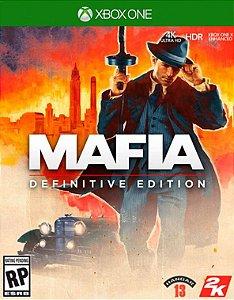 Mafia Definitive Edition Xbox One - Mídia Digital