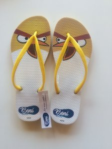 Chinelo Angry Birds