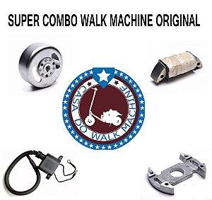 Kit Volante Magneto Cdi Completo Walk Machine Original