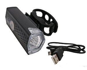 Lâmpada de Led p/ Bike/Walk Machine Recarregável USB - Super LED para Segurança (H1366)
