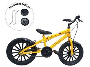 Bicicleta Infantil Aro 16 Grafitada Rei Leão