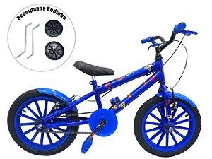 Bicicleta Infantil Aro 16 Grafitada Ladybug Superman
