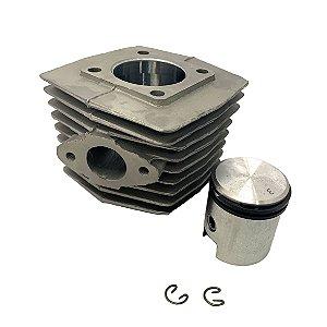 Kit Cilindro 50 CC Biela Completo  para Motores de Bicicletas  - Não serve para Walk Machine