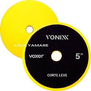 Boina De Espuma Vonixx Corte Leve Amarela 5'' Para Polimento