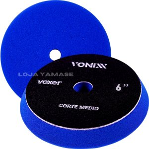 Boina De Espuma Vonixx Corte Médio Azul Escuro 6'' Polimento