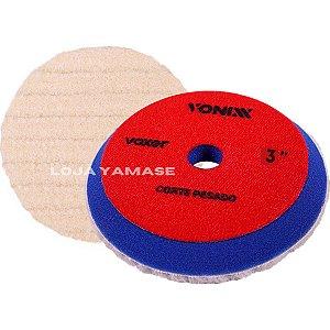 Boina De Lã Vonixx Corte Pesado 3'' Para Polimento