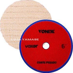 Boina De Lã Polimento Para Corte Pesado Vonixx 6'' Polegadas