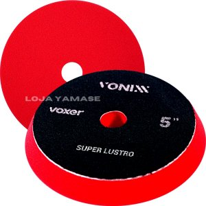 Boina Super Lustro Vermelha De Espuma Vonixx 5'' Polegadas