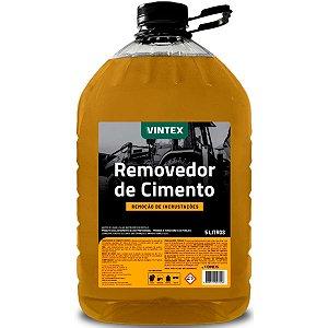 Removedor de Cimentos 5L Vintex Desincrustante Limpador de Trator Caminhão Betoneira