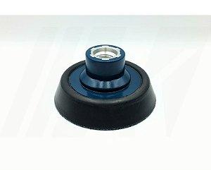 Prato 3″ suporte flexível Rosca M14 para Politriz Rotativa VONIXX voxxer