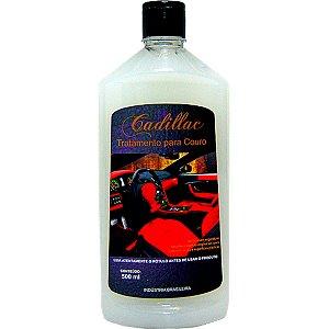 Hidratante De Couro Cadillac Tratamento Limpeza De Banco 500ml