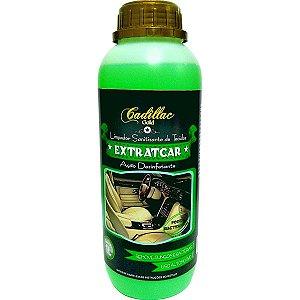 Extratcar Limpa Tecidos Banco Automotivo Bactericida Cadillac 1l
