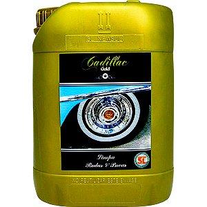 Produto Para Limpar Pneu E Rodas Do Carro E Moto Cadillac 5L Limpa Pneu e Roda