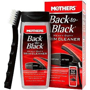 Kit Revitalizador Partes Plasticas Back To Black + Escova de Limpeza Mothers 355ml