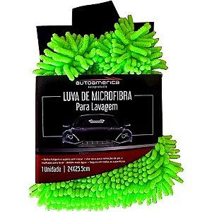 Luva De Microfibra Para Lavagem Automotiva Autoamerica