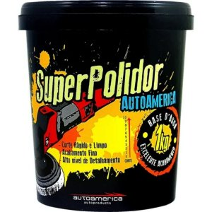 Massa Para Polir Carro Moto Super Polidor Autoamerica 1kg