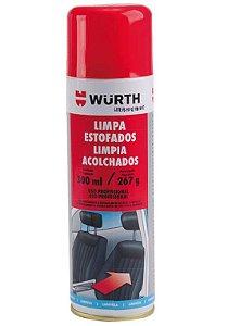 Limpa Estofado Wurth 400ml espuma limpadora