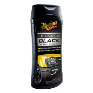 Renovador de Plástico Ultimate Black Meguiars 355ml G15812