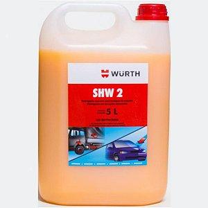 Shampoo Automotivo Com Cera  SHW2 Wurth 5 litros