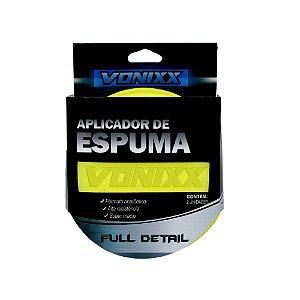 02 Aplicador Para Cera Massa De Polir - polimento - Espuma Macia Vonixx