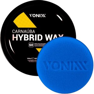 Cera De Carnaúba Hybrid Wax Pasta Com Aplicador Vonixx