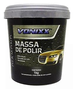 Massa De Polir 1kg Polimento Profissional Automotivo Vonixx