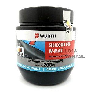 Silicone Gel W-Max 200g Revitalizador de plásticos e borrachas