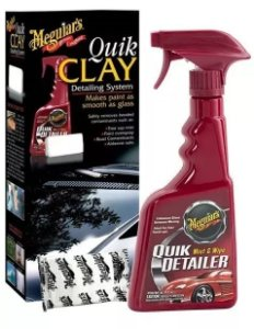 Kit Quik Clay Bar Pasta E Tok Final Automotivo Meguiars