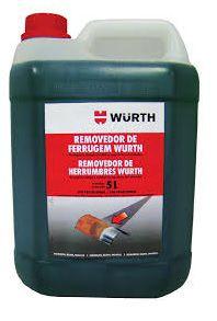 Removedor De Ferrugem Anti-Oxidante Desengraxante Limpa Chassi 5L Wurth