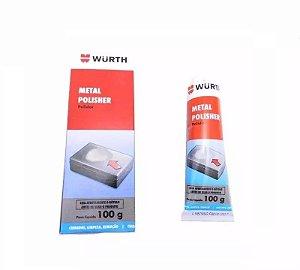 Polidor De Metais Alumínio e Cromados Metal Polisher 100g  Wurth