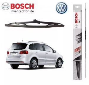 Palheta Traseira Original Bosch Vw Space Fox 2012 A 2018