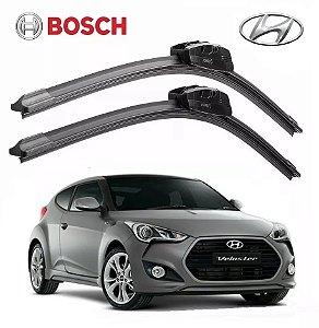 Par Palheta Limpador Hyundai Veloster 2011 A 2018 Bosch