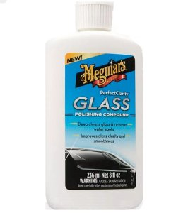 Polidor De Vidros Removedor de chuva ácida Glass Polishing Compound Meguiars G8408