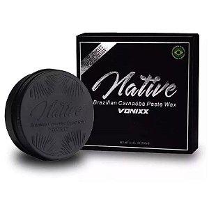 Cera Vonixx Native Black Carnaúba Preta Cristalizadora