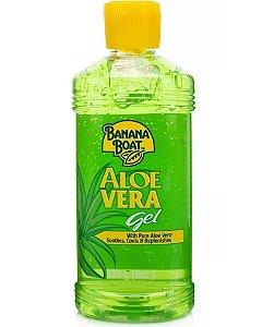 Aloe Vera Banana Boat Gel Pós Sol Loção Hidratante 230g