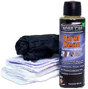 Farol Clean Nobre Car Revitalizador Limpa Protege Faróis