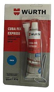 Cola Cuba Fixa Pia Granito Marmore Porcelana Plastico Metais