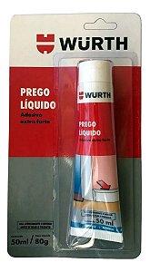 Prego Liquido Adesivo Selante Extra Forte 50ml Wurth
