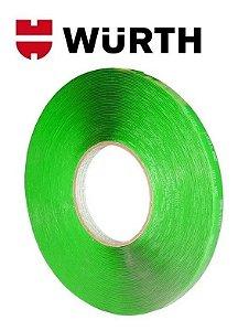 Fita Dupla Face Transparente Extra Forte Wurth 9mm X 20m
