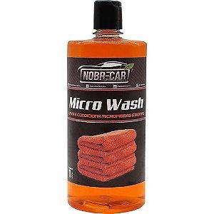 Limpa E Condiciona Boinas Microfibras Microwash Nobrecar 1L