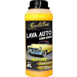 Shampoo Automotivo Com Cera Lava Autos High Shine Cadillac 2l