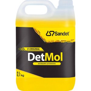 Shampoo Automotivo Limpeza Pesada Det Mol Sandet 5l