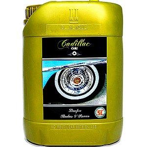 Produto Limpa Pneu E Rodas De Carro E Moto Cadillac 5l