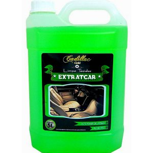 Limpa Tecidos Automotivo Remove Fungos Extratcar Cadillac 5l