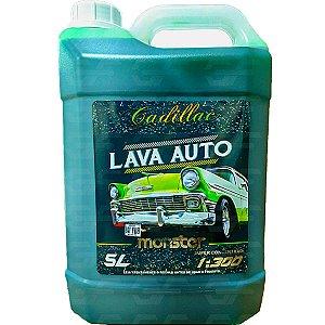 Shampoo Para Carros E Motos Monster Cadillac Lava Autos 5l