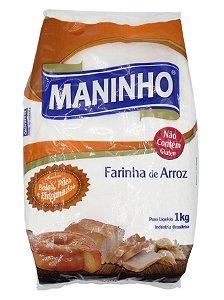 FARINHA DE ARROZ 1KG MANINHO